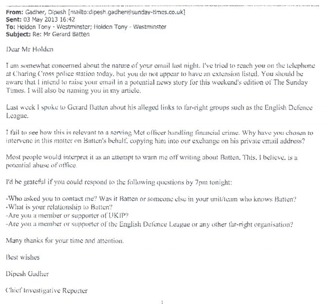 Gadher to Holden 03-May-2013 16-42