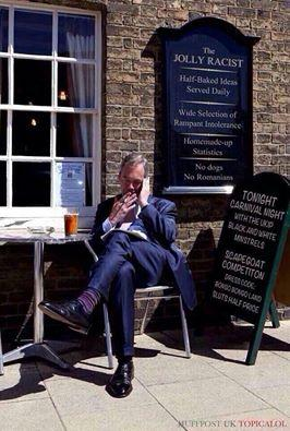 FARAGE, Nigel 92 Jolly RACIST 01