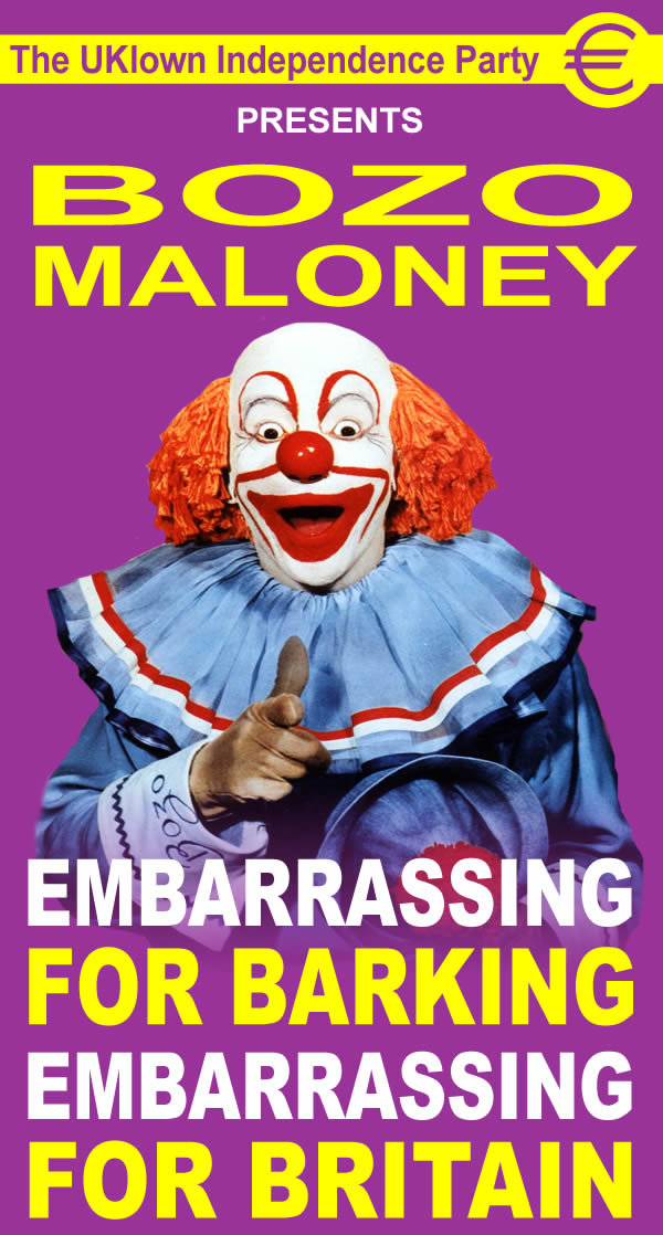 MALONEY, Frank 01 Bozo The Clown courtesy of Simon BENNETT
