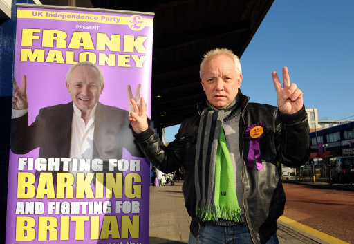 Frank Maloney election campaign