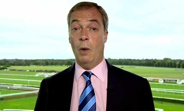 FARAGE, Nigel 96 No Racing Certainty DONCASTER 01