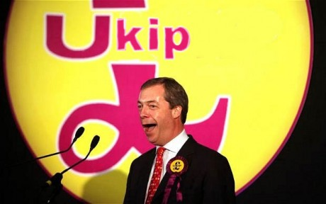 Ukip logo + Farage