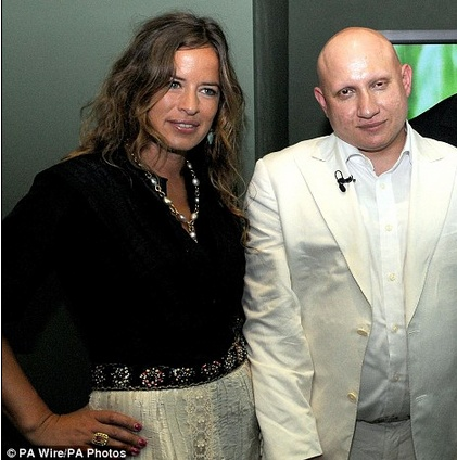 CHARALAMBOUS, Andrew 01 and Jade Jagger 01