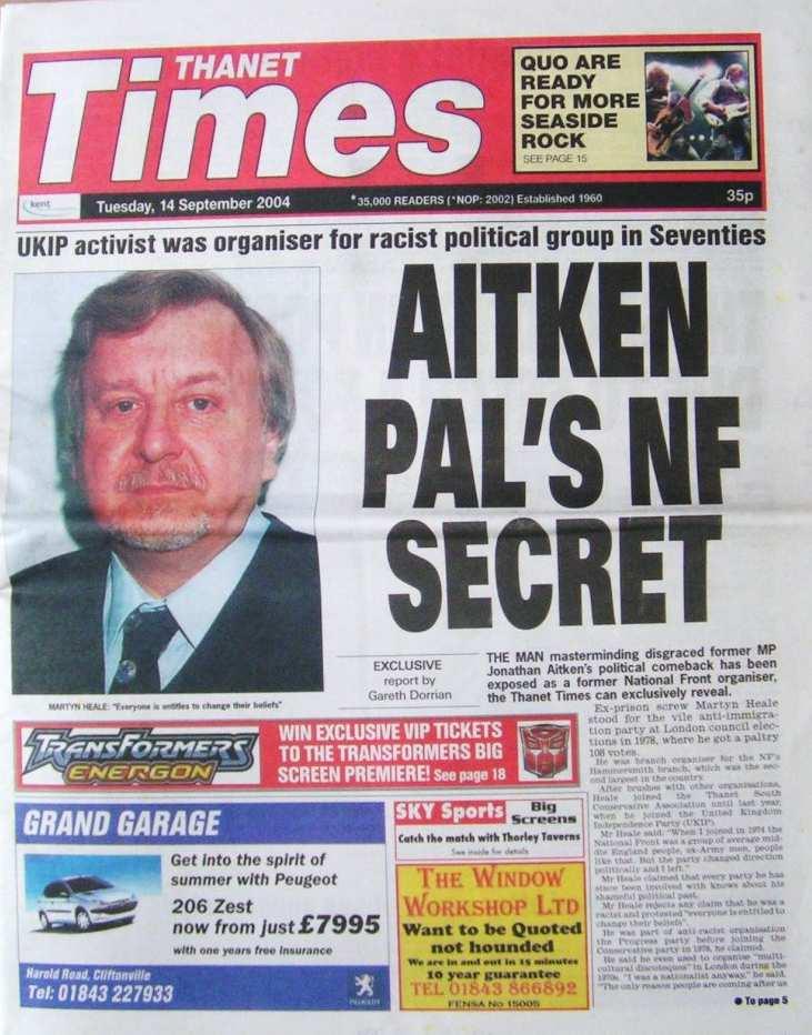 HEALE, Martyn - Thanet Times 114-Sep-2004
