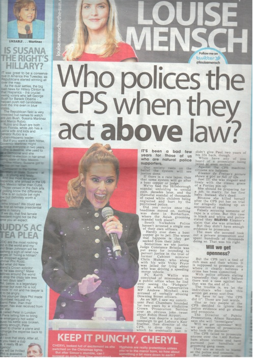 MENSCH, Louise THE SUN re CPS 10-Nov-2014 04