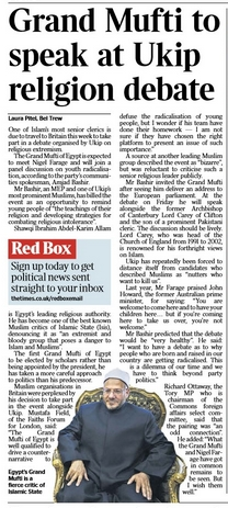 TIMES - Ukip and The MUFTI 02-Dec-2014 - 01