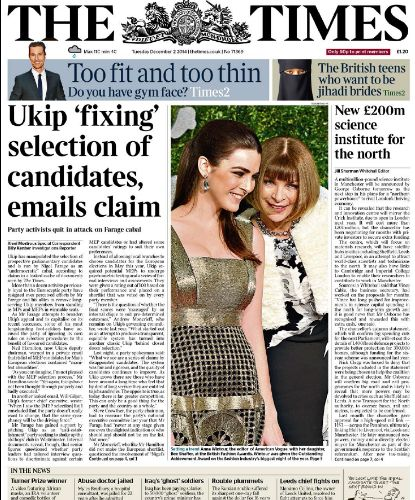 TIMES - Ukip Rig Elections 01