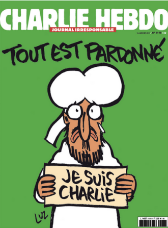 CHARLIE HEBDO Cover 13-Jan-2015