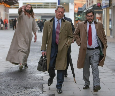 FARAGE, Nigel  105A FALSE PROPHETS