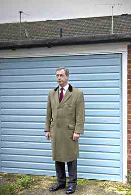 FARAGE, Nigel 64 + garage