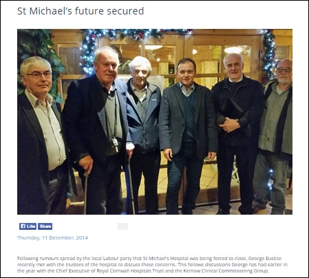Despite being a UKIP Branch Chairman, Stuart Guppy (2nd from Left)  maintains a relationship with Conservative Fisheries Minister and former  UKIP candidate, ...