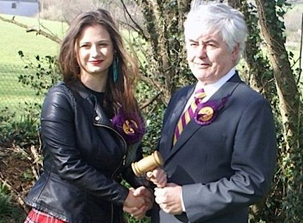 First picked up at a UKIP 'luncheon' by outed anti-Semite Stuart Guppy, she  was quickly passed around to UKIP Councillor Harry Blakeley, who in turn  groomed ...